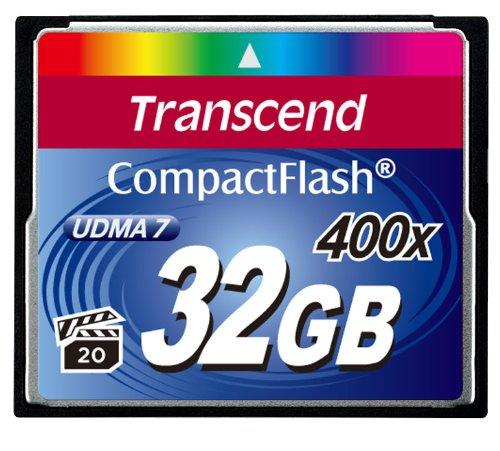Transcend CF400x Premium 32GB Compact Flash Memory Card