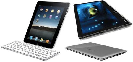 the search for the ideal travel gadget.. iPad vs Adam vs Netbook..