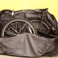 Review: Btwin bike bag (or.. how to pack a Surly Long Haul Trucker)