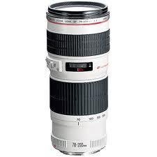 Canon EF 70-200mm f/4L IS USM Lens