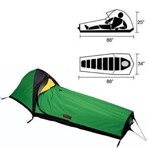 Bombproof shelter. Comfortable as a Bivy, Uncomfortable as a Tent