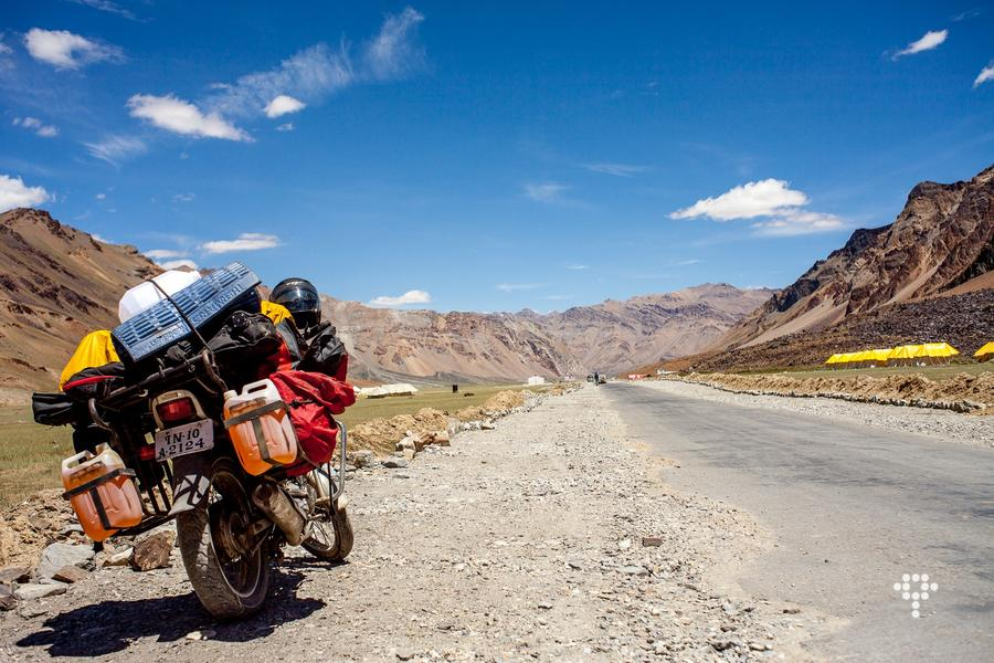 Ladakh Motorcycle Trip (Demo)