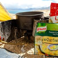 Trail food for solo hiking and camping in India