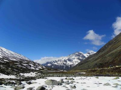 Yumthang, Zero Point Via Lachung